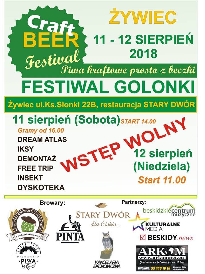 Craft Beer Festival w Żywcu