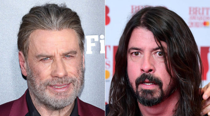 John Travolta i Foo Fighters