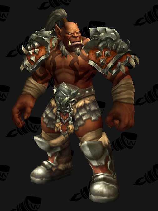 Maghar Orc Straight Form