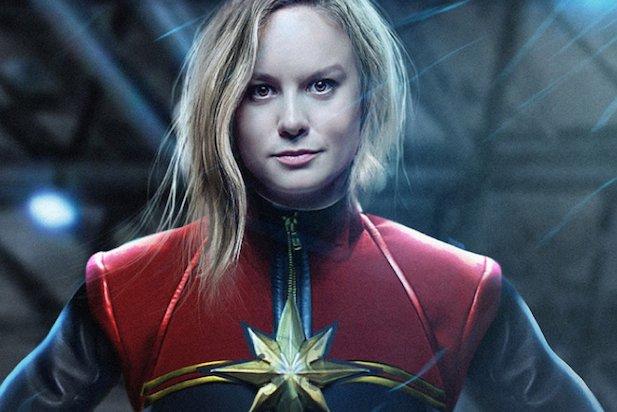 Brie Larson w roli Capitan Marvel