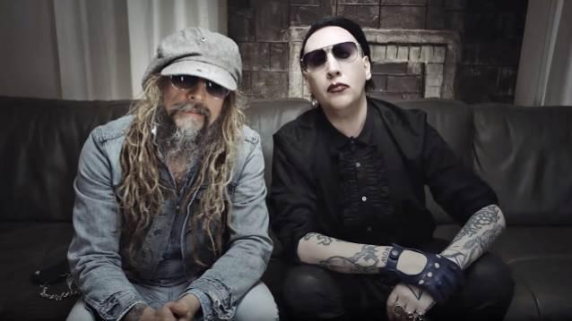 Rob Zombie i Marilyn Manson