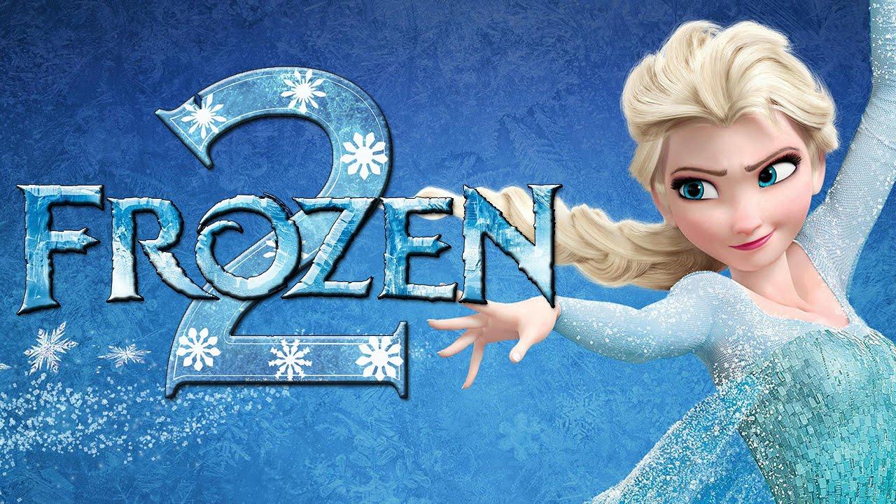 Grafika zapowiadająca animację Frozen 2