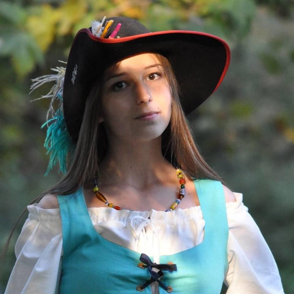 Emilia Stachurska w 2016 roku