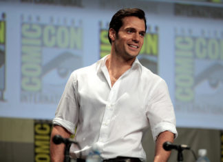 "Henry Cavill speaking at the 2014 San Diego Comic Con International, for ""Batman v Superman: Dawn of Justice"", at the San Diego Convention Center in San Diego, California."
