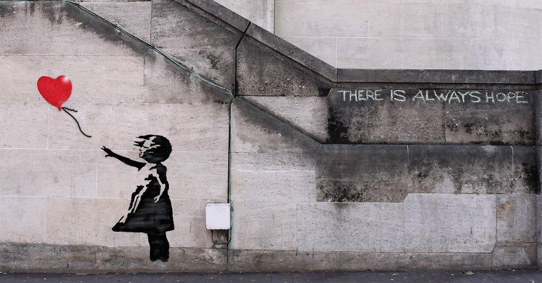 Dziewczynka Z Balonikiem Banksyego Zniszczona Zaraz Po
