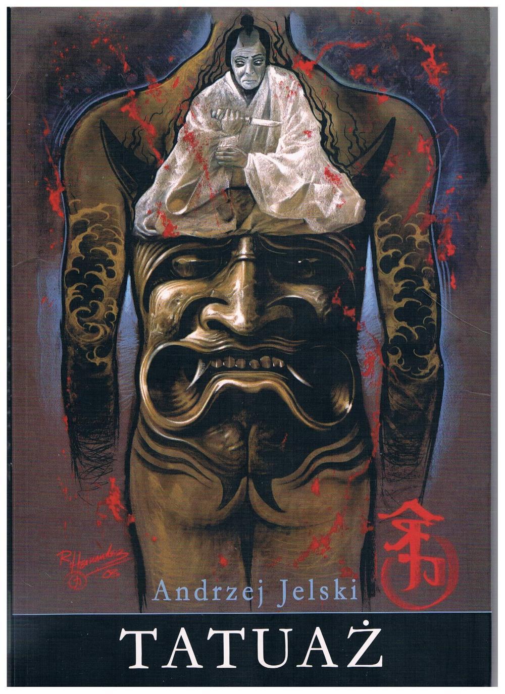 Najlepsze książki o tatuażach, Andrzej Jelski, Tatuaż