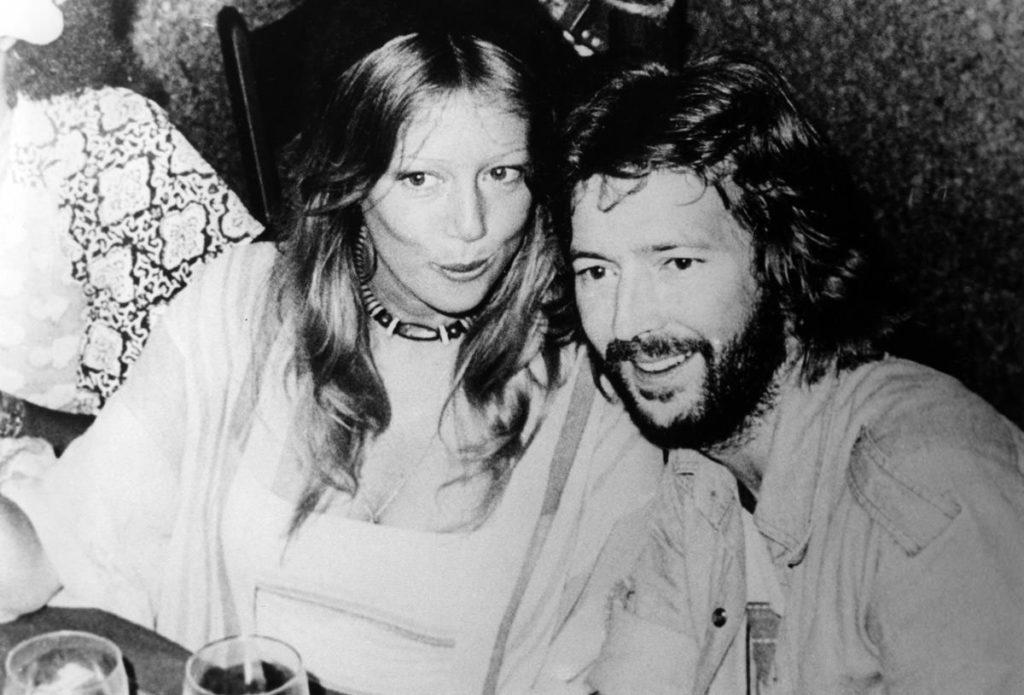 Pattie Boyd i Eric Clapton
