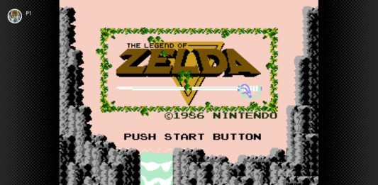 The legend of zelda 1986