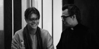 """David Bowie i Gary Oldman na planie teledysku """"The Next Day"""""""
