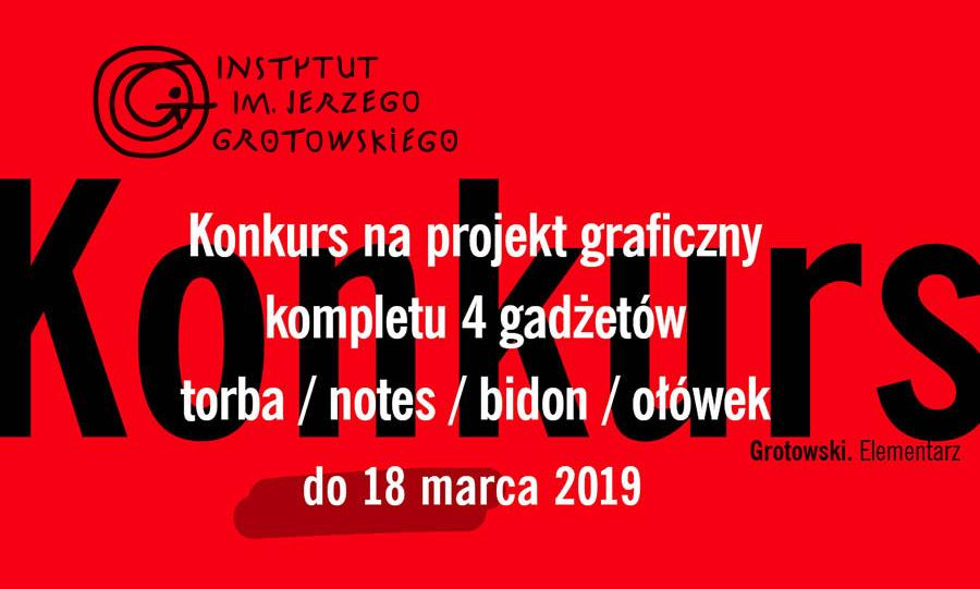 Konkurs graficzny w Instytucie Grotowskiego