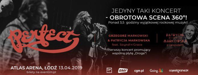 Wygraj bilety koncert zespołu Perfect, Patrycji & Grzegorza Markowskich w Łodzi! [KONKURS]