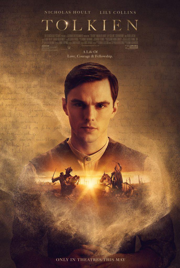 """Plakat promujący film """"Tolkiem"""" z Nicholasem Houltem"""