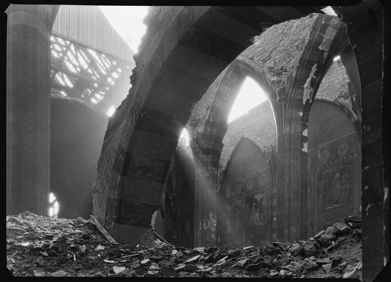 Josef Sudek. Topografia ruin. Praga 1945 w Muzeum Architektury we Wrocławiu