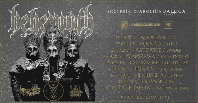 Behemoth - nowa trasa koncertowa