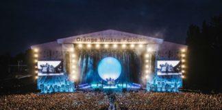 Rita Ora na Orange Warsaw