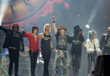 Guns N' Roses powracają na trasę Not In This Lifetime