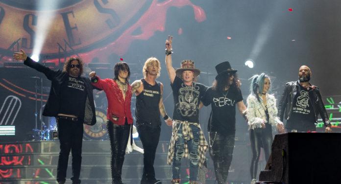 Guns N' Roses powracają na trasę Not In This Lifetime