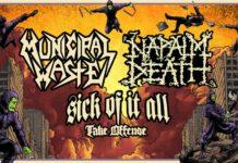 Napalm Death na wspólnej trasie z Municipal Waste