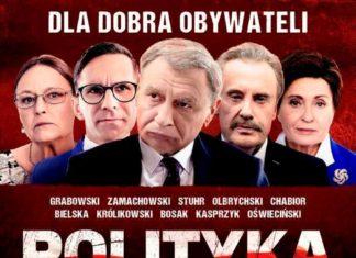 "Plakat filmu ""Polityka"""