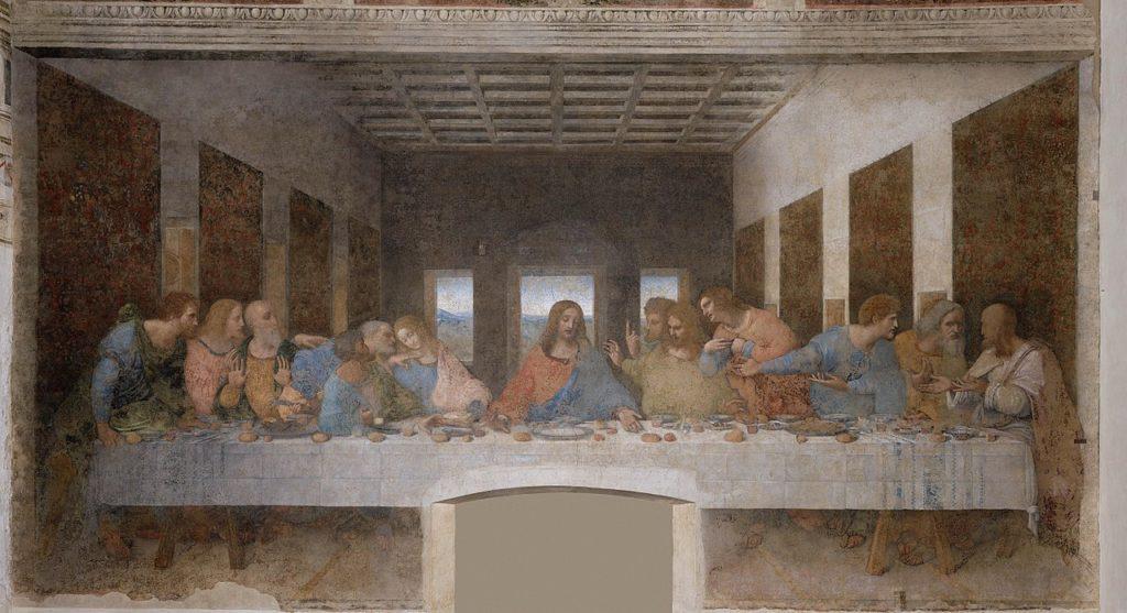 Leonardo da Vinci - Ostatnia wieczerza
