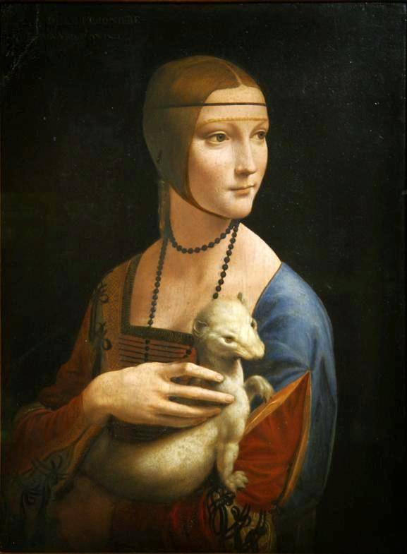 Leonardo da Vinci - Dama z Gronostajem