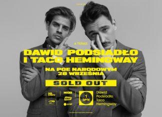 Koncert Dawida Podsiadło i Taco Hemingway'a w Warszawie