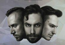 twarze zespołu tre voci; od lewej wojtek sokolnicki, mikołaj adamczak, miłosz gałaj