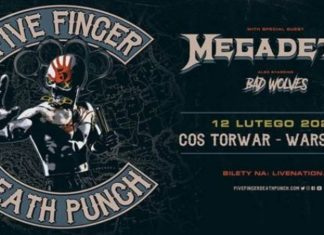 Five Finger Death Punch ogłasza