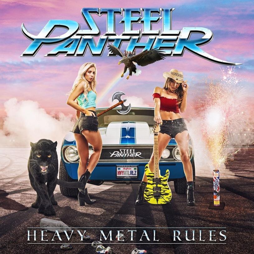 Okładka najnowszego albumu Steel Panther
