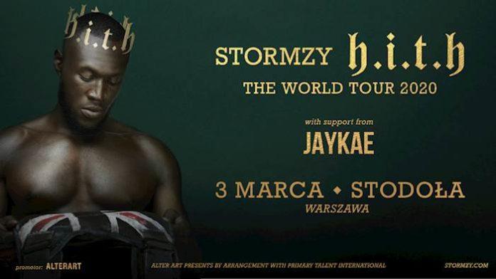 Stormzy w Warszawie