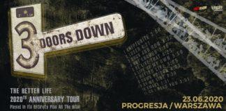 3 Doors Down powraca do Polski po 7 latach!