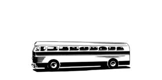 staroświecki autobus in omnibus requiem