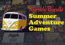 Humble Summer Adventure Games Bundle