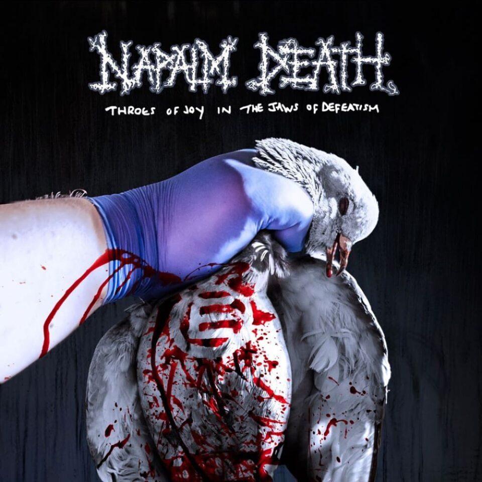 Okładka najnowszej płyty Napalm Death