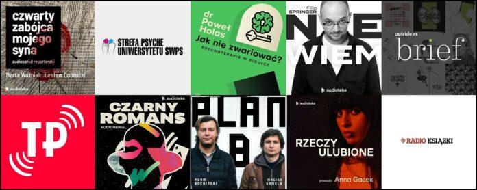 Top 10 wakacyjnych podcastów w Audiotece