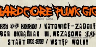 Katowicki Hardcore Punk Gig - rozpiska imprezy