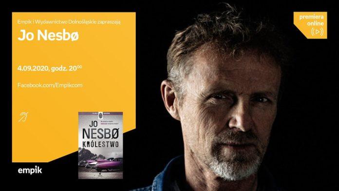 Jo Nesbo - cykl premieraonline - spotkanie autorskie Empik